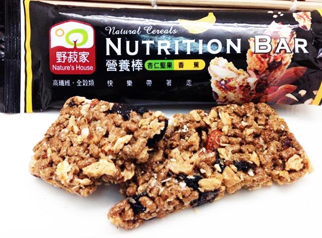 营养棒-低热量食物推荐 野菽家营养棒 12条/盒 (2盒入